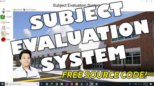 subject evaluation system in vb.net