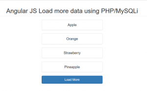 Select Dynamically Add Options using AngularJS with PHP/MySQLi