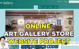online art gallery store website