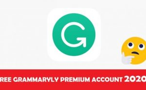 free grammarly account 2020