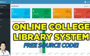Online College Library System