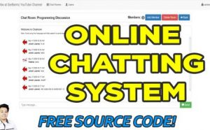 online chat system in php