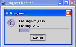 progress monitor