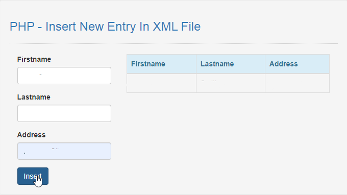 php insert new entry in xml