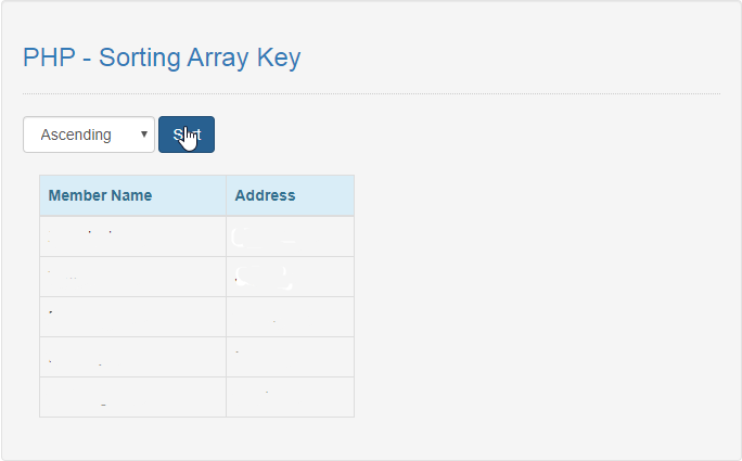 Sorting Array Key in PHP