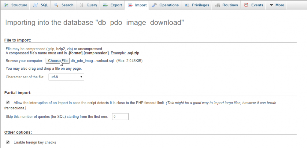 send post request using ajax in php