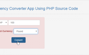 currency converter in php