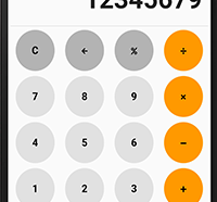 calculator in flutter