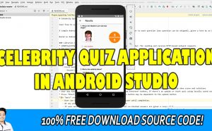 celebrity quiz app android studio
