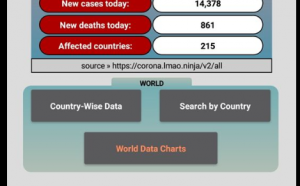 android corona virus tracker app