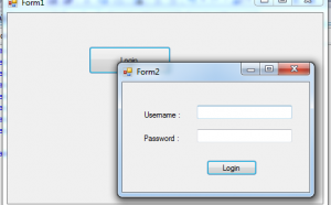 c# multiple forms in same window