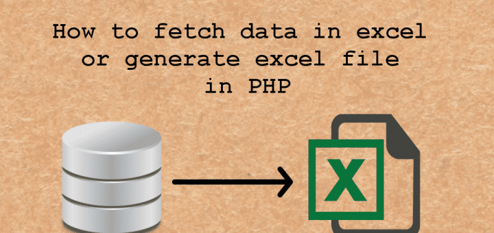 fetch excel data in php