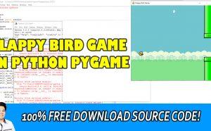flappy bird game in python