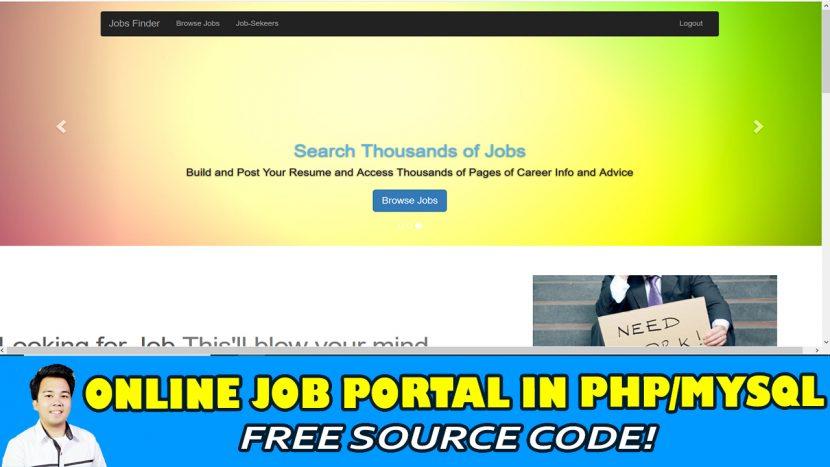 job portal in php