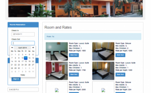 online reservation system for guest house