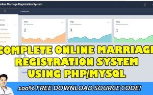 online marriage registration system php