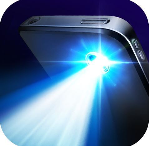 flash light application in android