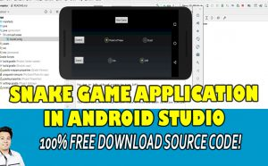 snake game app in android studio