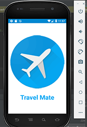 travel guide application in android