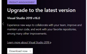 visual studio 2019 offline installer