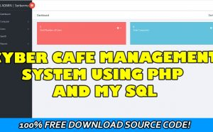 cybercafe management system project