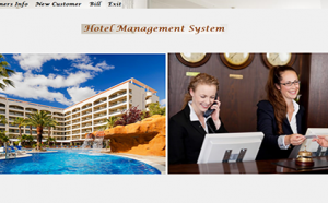 hotel management system in csharp