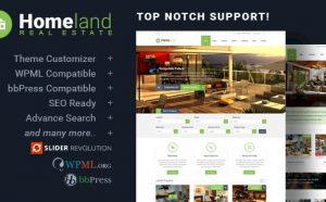 Homeland - Responsive Real Estate Theme