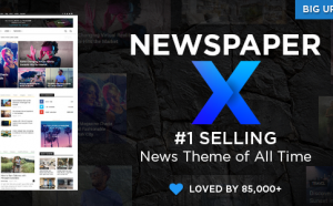 Newspaper Premium WordPress Theme