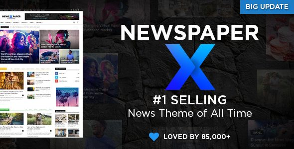 Newspaper Premium WordPress Theme
