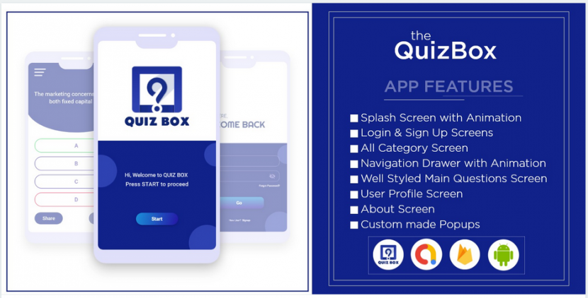 complete android quiz app