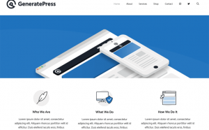 generatepress wordpress theme free download