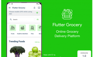 multivendor grocery app in flutter