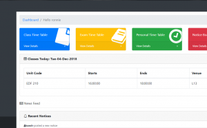 student timetable management system free download