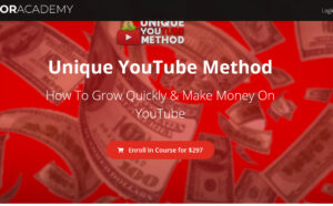 unique youtube method full course
