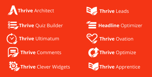 All Thrive Themes Plugins free download