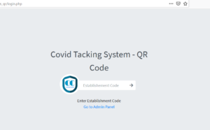 covid contact tracking system