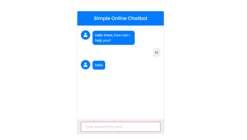 how to create an online chatbot in php