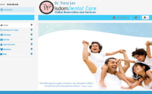 dental clinic online appointment system project